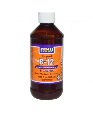 Now Foods, B-12, Liquid, B-Complex, 8 fl oz (237 ml)