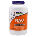 NAC 600 mg (250 Veggie Caps) - Now Foods