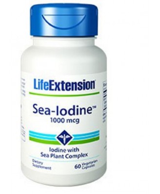 Sea-Iodine 1000 Mcg - 60 Capsule Vegetali - Life Extension
