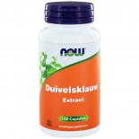 Now Foods, duivelsklauw, 100 Capsules