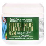 Advanced Therapeutics - Glucosamine Chondroitin MSM - Ultra Rx-Cream (118 ml) - Nature's Plus