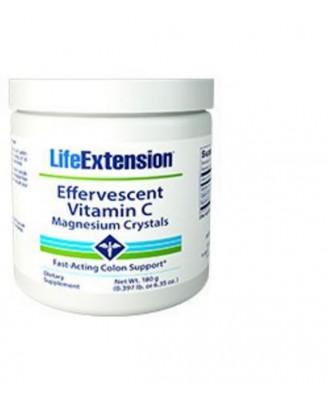Vitamina C Effervescente - Cristalli Di Magnesio, Peso Netto 180 G - Life Extension
