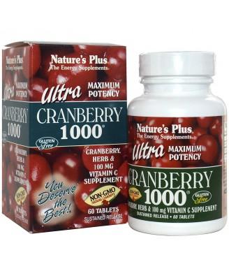 Ultra Cranberry 1000 (60 Tablets) - Nature's Plus
