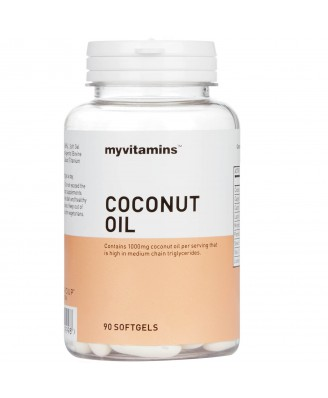 Coconut Oil (90 Softgels) - Myvitamins