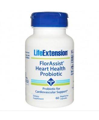 FlorAssist cuore salute probiotico - 60 capsule vegetali - Life Extension