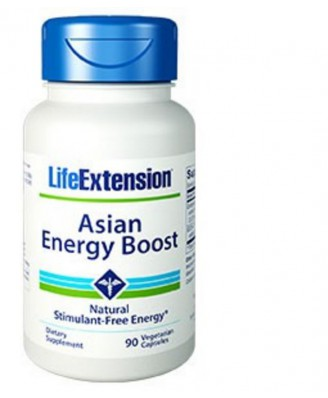 Supporto Energia Asiatico - 90 Capsule Vegetali – Life Extension