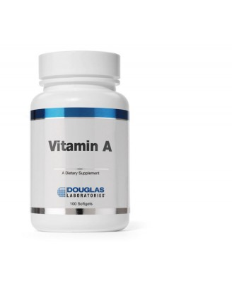 Vitamina A 4000 IU - 100 capsule vegetali - Douglas Laboratories