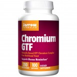 Chromium GTF 200 mcg (100 Capsules) - Jarrow Formulas