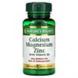 Calcium Magnesium Zinc with Vitamin D3 (100 Coated Caplets) Nature's Bounty