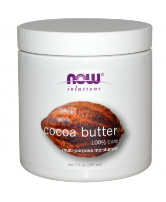Cocoa Butter (207 ml) - Now Foods