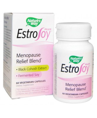 Nature's Way, EstroSoy Plus, Menopause Relief Blend, 60 Capsules