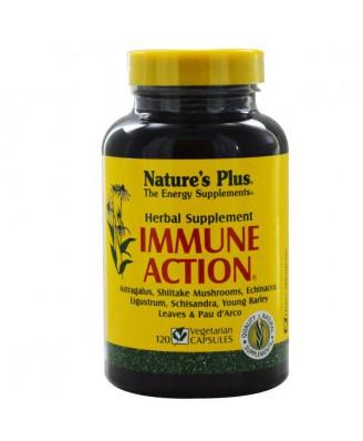 Immune Action (120 Veggie Caps) - Nature's Plus