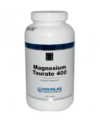 Douglas Laboratories, Magnesium Taurate 400, 120 Tablets
