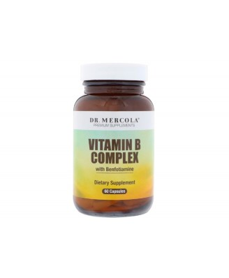 Vitamin B Complex (60 Capsules) - Dr. Mercola