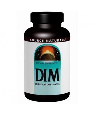 DIM- (Diindolylmethane)- 100 mg (60 tablets) - Source Naturals