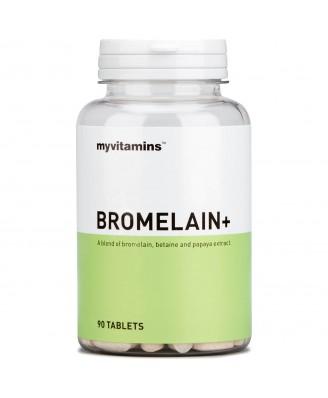 Bromelain+ (90 Tablets) - Myvitamins