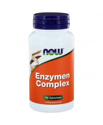 Now Foods, Super enzymen, 90 tabletten