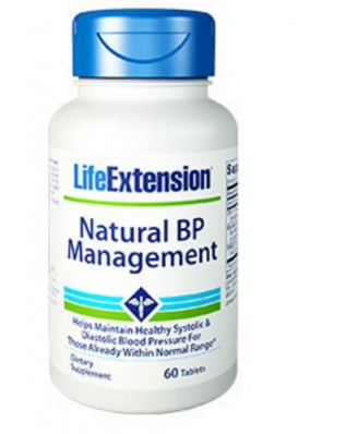 Natural BP Management  - 60 Compresse - Life Extension