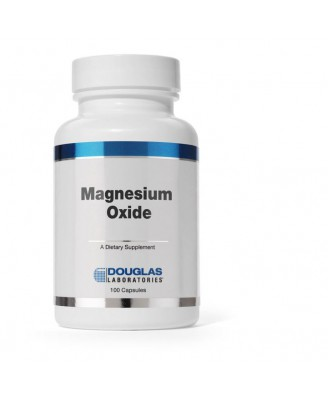 Magnesium Oxide - 100 Capsules - Douglas Laboratories