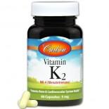Vitamin K2 - 5 mg (60 capsules) - Carlson Laboratories