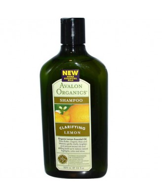 Avalon Organics, Shampoo limone (325 ml)