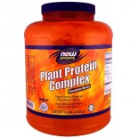 Plant Protein Complex- Chocolate Mocha (2722 gram) - Now Foods