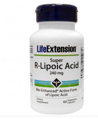 Super R-Lipon Zuur, 240 mg (60 Veggie Caps) - Life Extension