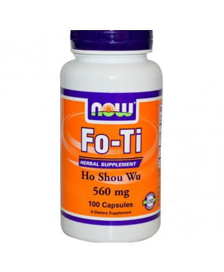 Now Foods, Fo-Ti, Ho Shou Wu, 560 mg, 100 Capsules