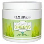 Organic Greens Natural Flavor (180 g) - Dr. Mercola