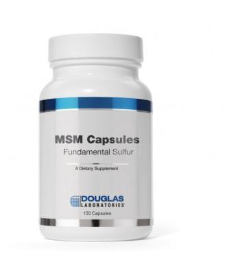 MSM Capsule fondamentali dello zolfo (90 capsule) - Douglas Laboratories