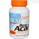 Doctor's Best, Best Acai, 500 mg, 120 Veggie Caps