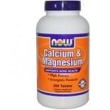 Now Foods, Calcium & Magnesium (2:1), 250 Tablets