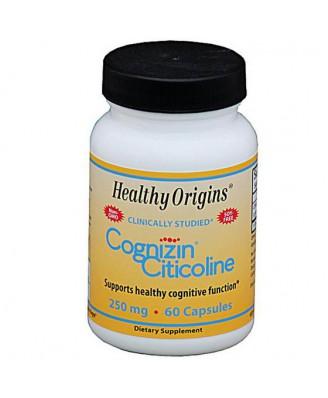 Healthy Origins, Cognizin Citicoline, 250 mg, 60 Capsules Healthy Origins, Cognizin Citicoline, 250 mg, 60 Capsules