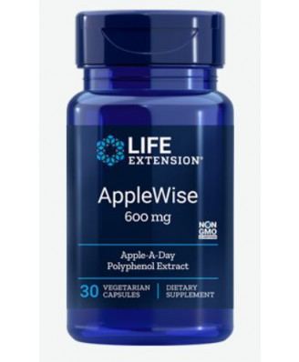 Applewise Estratto Di Polifenolo 600 Mg - 30 Capsule Vegetali - Life Extension