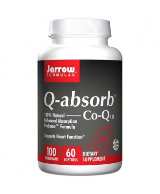 Q-absorb Co-Q10 100 mg (60 softgels) - Jarrow Formulas