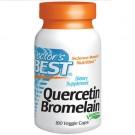 Doctor's Best, Quercetin Bromelain, 180 Veggie Caps