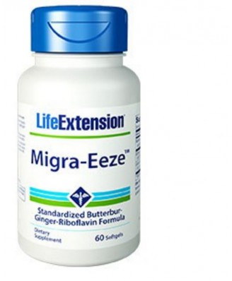 Migra-Eeze standardizzato del farfaraccio-Ginger-riboflavina Formula - 60 softgels - Life Extension