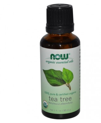 Organic Essential Oils - Tea Tree (30 ml) - Now Foods