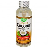 Nature's Way, Liquid Coconut Premium Oil, 10 fl oz (296 ml)