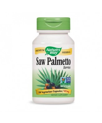 Nature's Way, Saw Palmetto Berries, 585 mg, 100 Capsules