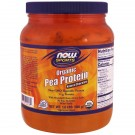 Organic Pea Protein- Natural Chocolate (680 gram) - Now Foods