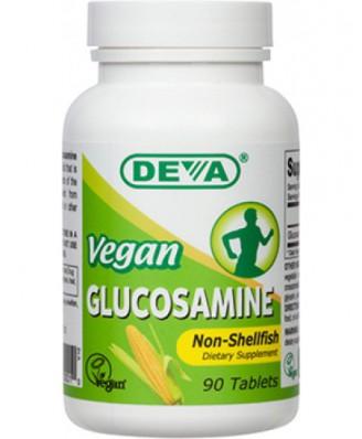 Deva, Glucosamine MSM & CMO, Vegan, 90 Tablets