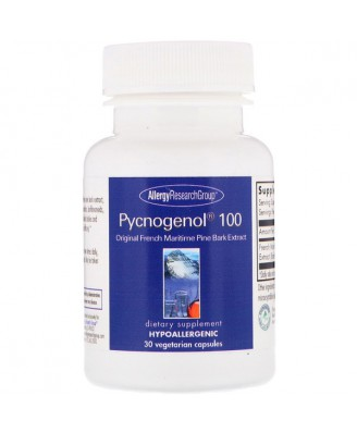 Pycnogenol 100 30 Vegetarian Capsules - Allergy Research Group