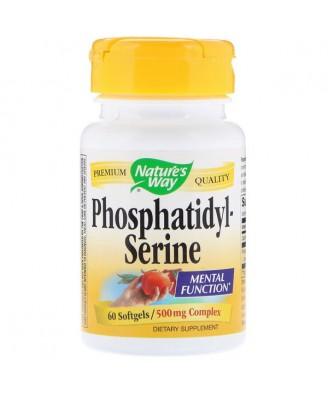 Nature's Way, Phosphatidylserine, 500 mg Complex, 60 Softgels