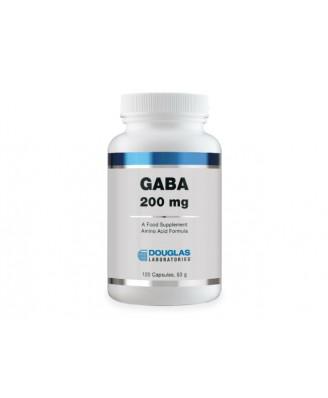 Douglas Laboratories, GABA, 200 mg, 120 Capsules