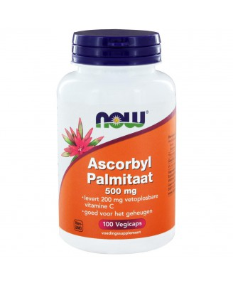 Ascorbyl Palmitaat 500 mg (100 veggie caps) - Now Foods