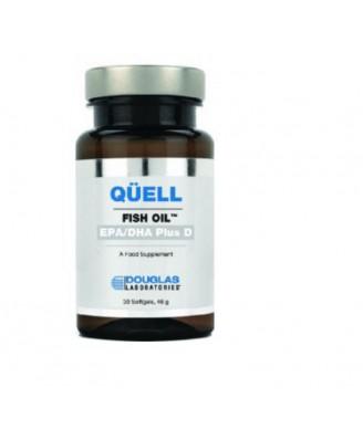 Quell Sedare l'olio di pesce - alta EPA + DHA w/vitamina D3 (60 compresse) - Douglas Laboratories