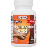 Deva Vegan Hyaluronic Acid -- 100 mg - 90 Tablets