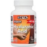 Vegan Hyaluronic Acid 100 mg (90 Tablets) - Deva