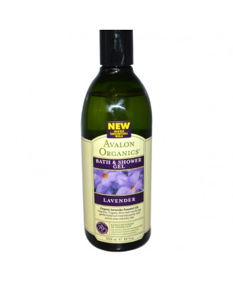 Bad & Douche Gel, Lavendel (355 ml) - Avalon Organics
